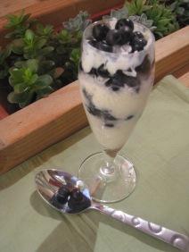 Yogurt Blueberry Couscous Parfait 2