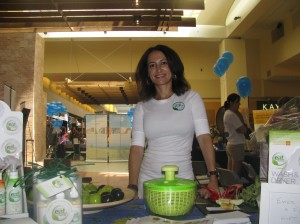 Mareya at the OC Parenting Expo in Orange